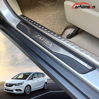 Stainless Steel Accessories For Opel Zafira Door Sill Strip Trim Car Sticker Scuff Plate Guard Protectors Auto Styling 2019 2016