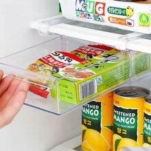 Пластиковый 2 шт стеллаж для хранения холодильника полка для хранения Органайзер для холодильника контейнер для хранения продуктов