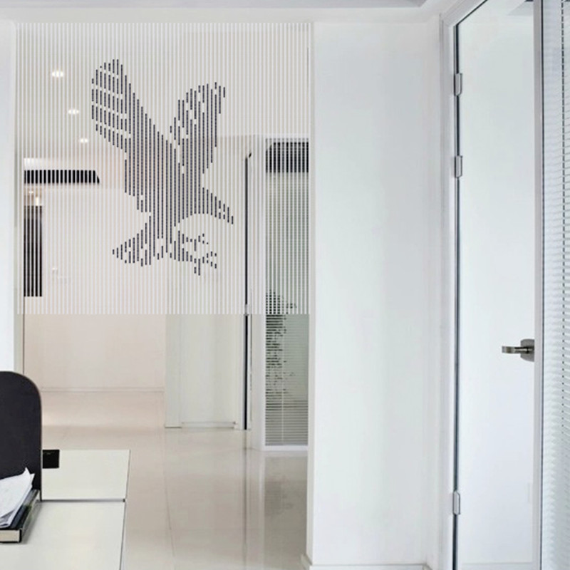 Logo personnalisé rideau perles de cristal gland chaîne de soie rideau fenêtre cantonnière porte panneau transparent rideaux fenêtre porte mariage Dec - 5