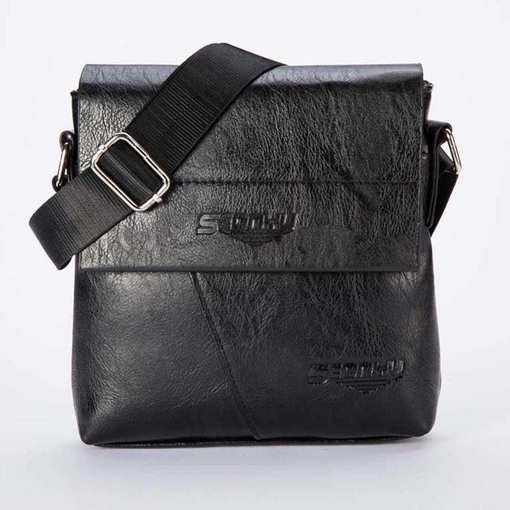 Mannen Mode-Business Handtas Schoudertas Tote Flap Bag Borst Casual Bag Man Handtassen Lederen Tas Aktetassen Business Kantoor