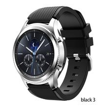 Strap Für Samsung Galaxy uhr 3 45mm 41 aktive 2 getriebe S3 Frontier huawei uhr gt 2e 2 amazfit bip gts strap 20 22mm uhr Band cheap RCAT CN (Herkunft) 22cm Uhrenarmbänder Silikon Neu mit Etiketten for 20mm 22 mm amazfit gts 2 bip gtr 47mm 46mm 42mm for garmin vivoactive 3 4 4s GT2e GT2 xiaomi haylou ls05 smart watch
