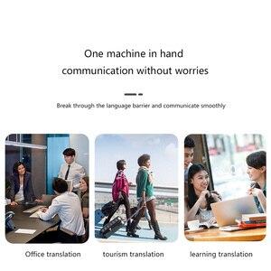 Image 4 - G6 dil çevirmeni akıllı çeviri makinesi akıllı çoklu dil tercüman desteği çeviri 70den fazla