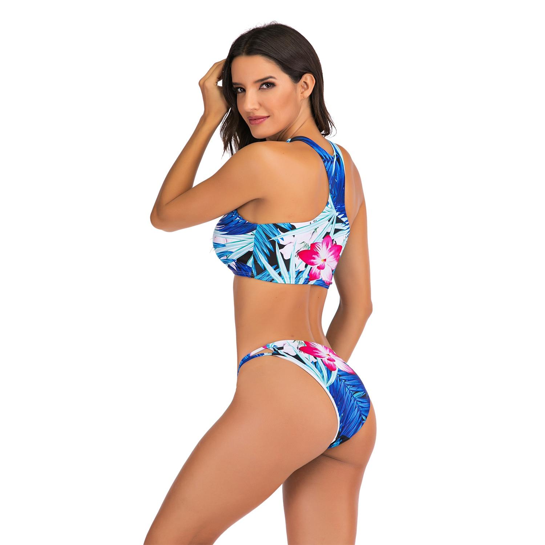 Sexy Bikinis Swimsuit High Waist bikini 2020 Bathing Suit Women Plus Size Swimwear Push Up Bikini Set Vintage Beach Wear Biquini 4