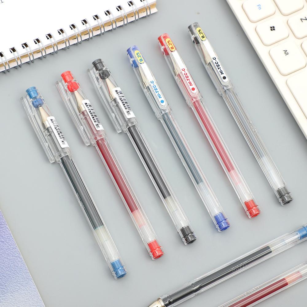 1pc PILOT HI-TEC-C  Large Volume Needle Tube Gel Pen 0.3 Mm 0.4 Mm 0.5 Mm 0.25 Mm Simplicity Neutral Pen Japan Stationery