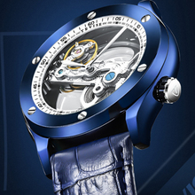 TEVISE Men's Watches Top Brand Luxury Skeleton Tourbillon Automatic Mechanical Watches Male Business Watch Relogio Masculino men automatic mechanical watches skeleton mens watches top brand luxury shockproof waterproof belt watch new tourbillon design