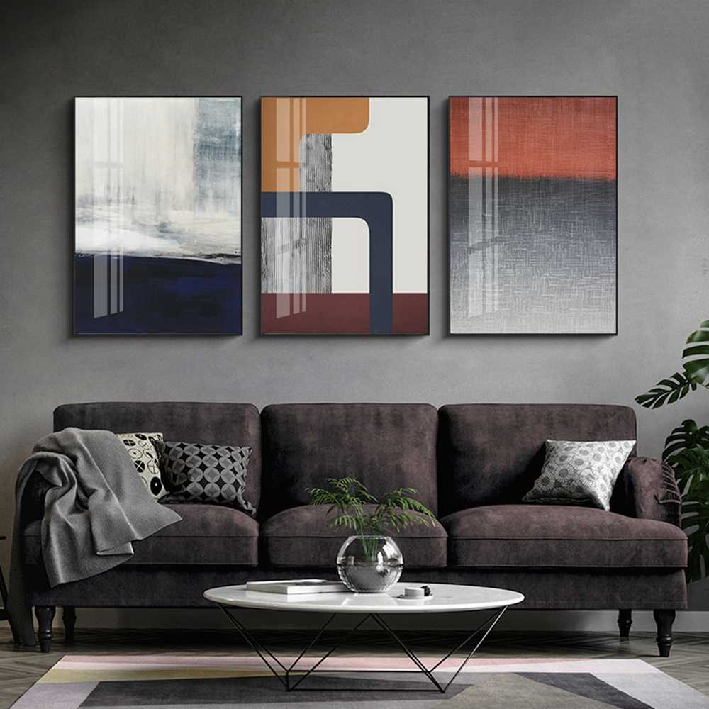 Abstract Art Painting Printed Modular Posters Canvas Wall Pictures Fashion Wall Pictures For Living Room Home Decor Cuadros