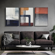 Abstract Art Painting Printed Modular Posters Canvas Wall Pictures Fashion For Living Room Home Decor Cuadros
