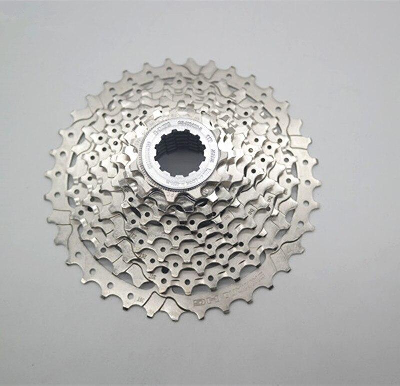 SHIMANO Alivio M4000 HG400-9 9 S Скорость MTB Кассетный Маховик CS-HG400-9 11-32T 11-34t 11-36T MTB 9 Скорость механизм трещотки для велосипеда