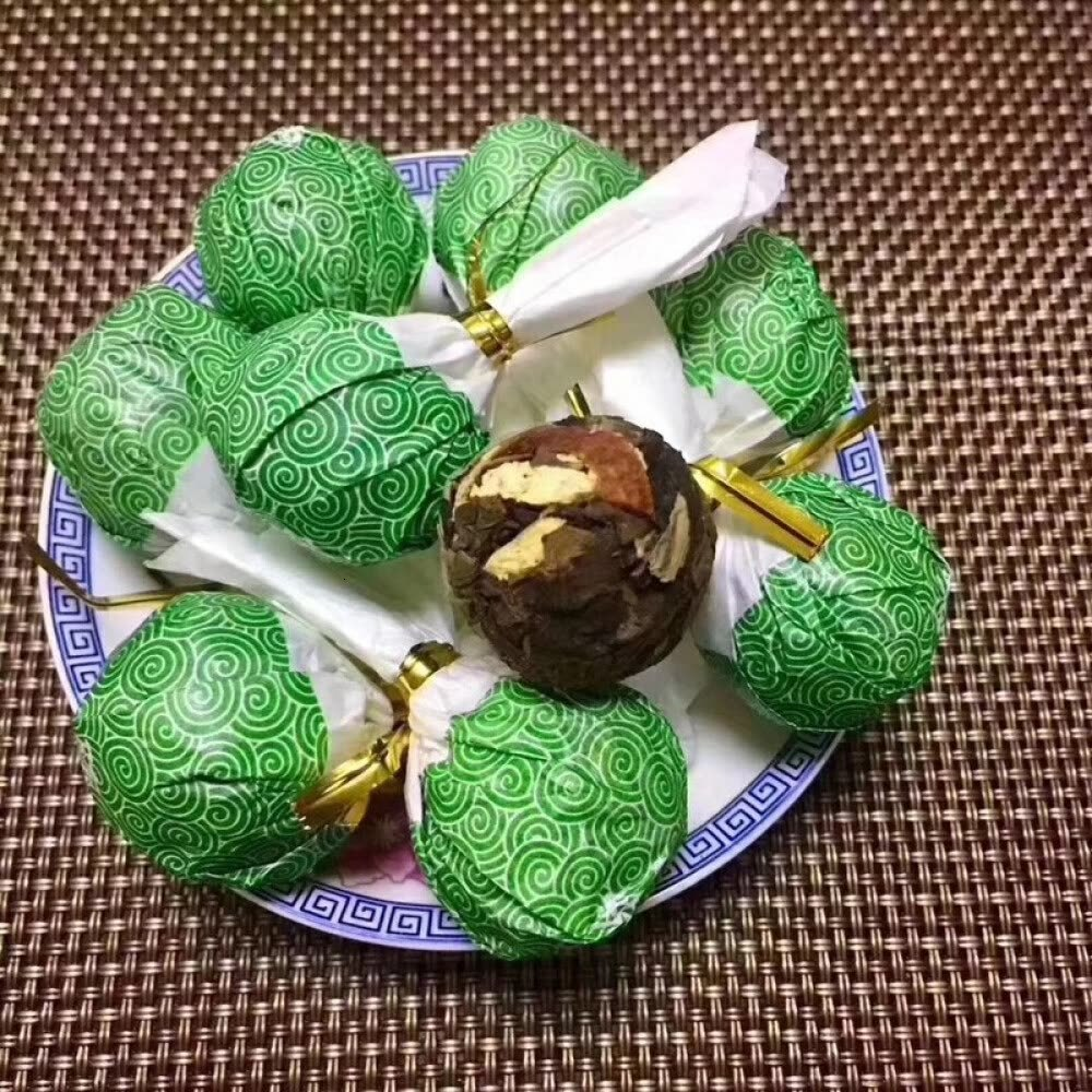 Fuding White Tea Ball New Club Chen Pei Long Zhu Ball Tea Xiaotuo Tea Shoumei Old White Tea Chocolate Tea 250g Package