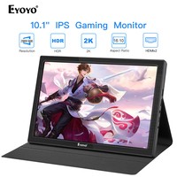Eyoyo EM10T 10 IPS Portable HDMI Gaming Monitor 2560x1600 High Resolution for PC Laptop Compatible with PS4 Raspberry Pi