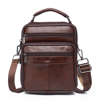 ZZNICK Quality Leather Male Casual Shoulder Messenger bag Cowhide Fashion Cross-body Bag ToteSatchel bag Flap 2020 New 2018 rivet genuine leather women s small messenger bag mini flap bag first layer cowhide one shoulder cross body quality bag
