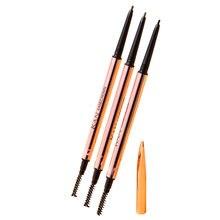 Ультратонкий треугольный карандаш для глаз 3 цвета точный расширитель