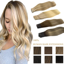 Invisible Halo Hair Extensions Natural Black to Light Brown Honey Blonde Ombre Straight Hair Pieces Piano Halo Hair Extensions