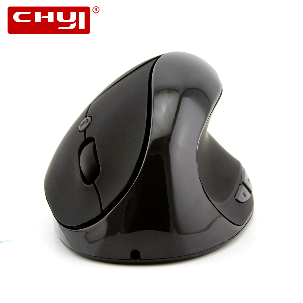 CHYI Wireless Rechargeable Computer Mouse Ergonomic Optical Vertical Mause Mice 1600 DPI Gaming Mouse For Laptop PC