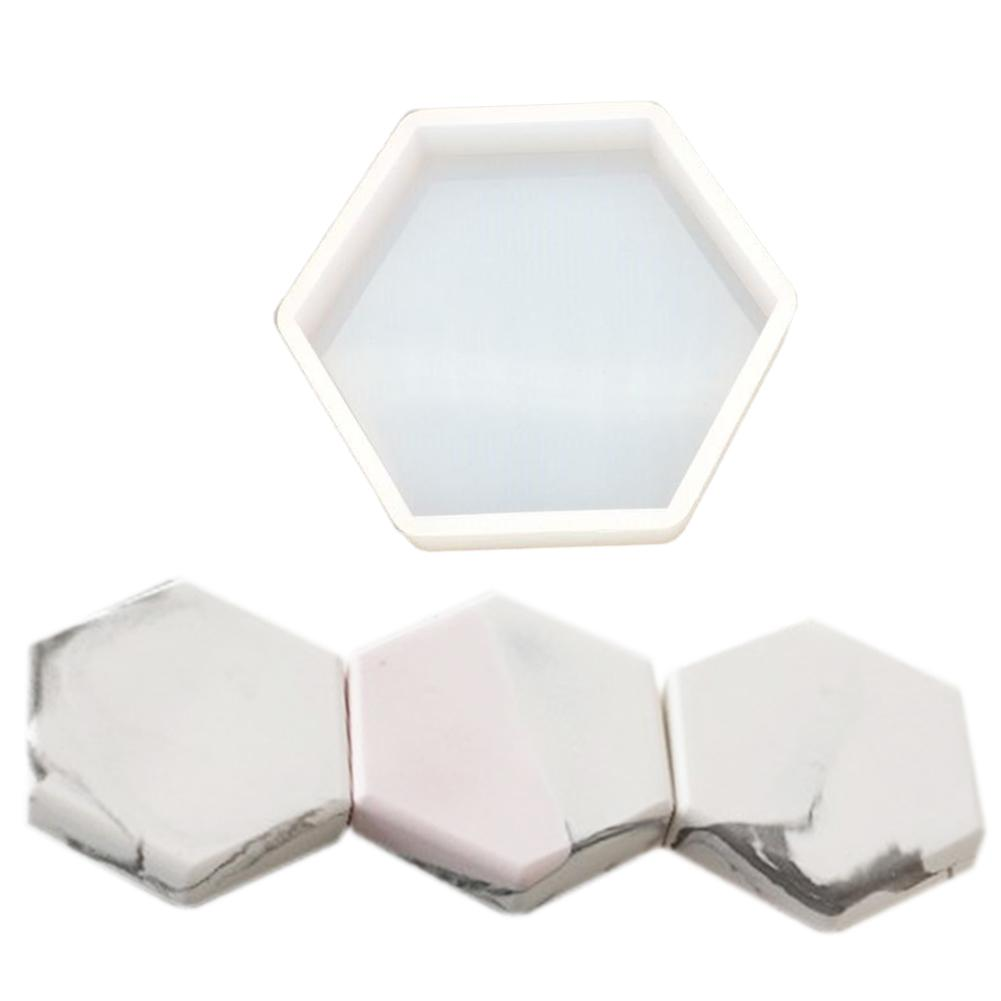 DIY Mold Nordic Geometry Style Ashtray Coaster Flexible Silicone Mold Epoxy Resin Making Craft Clay Resin Molds Jewelry Making