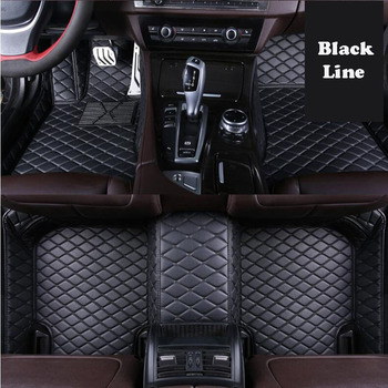 For Toyota CHR C-HR 2018 2017 Accessories 2019 Microfiber Leather Car Floor Mats Rugs Foot Mats Protector Goods Car Accessories