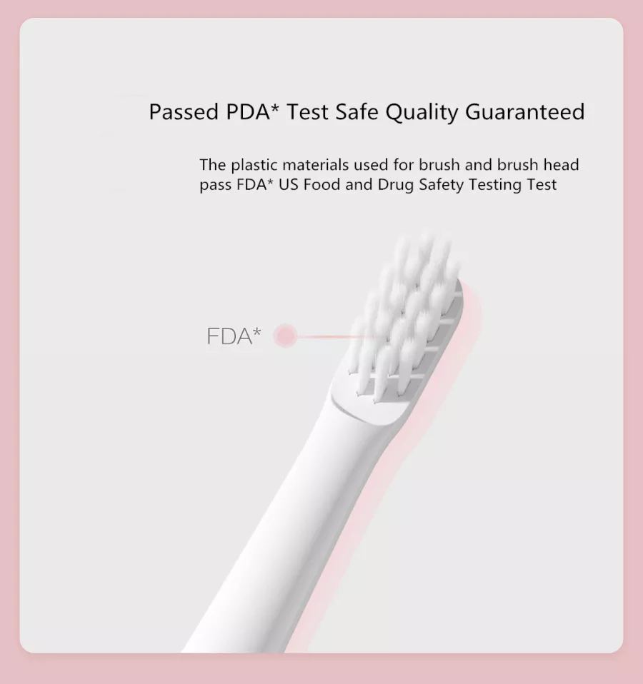 Xiaomi Electric Toothbrush Sonic toothbrush Whitening Oral Care Mijia T100 toothbrsush Soocas EX3 waterproof tooth brush 5
