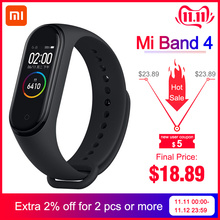 Xiaomi Mi-Band Bluetooth Fitness-135mah 4-Bracelet Original Heart-Rate Newest 4-In-Stock