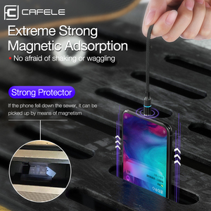 Image 4 - Cafele 5A Super fast charge QC4.0 Magnetic Cable USB C Charging Type C Cable For Huawei P30 P20 P10 Mate 20 Pro Lite Charger