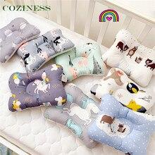 Уют + ребенок + подушка + стереотипный + подушка + новорожденный + 0-1 + лет + старый + бок + спальный + дышащий + многоцветный + стиль + постельное белье + оптовая продажа