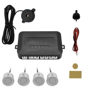 Image 1 - Car 12V 4 pure buzzer reversing radar, Parking Aid radar system, 22mm probe reversing sound
