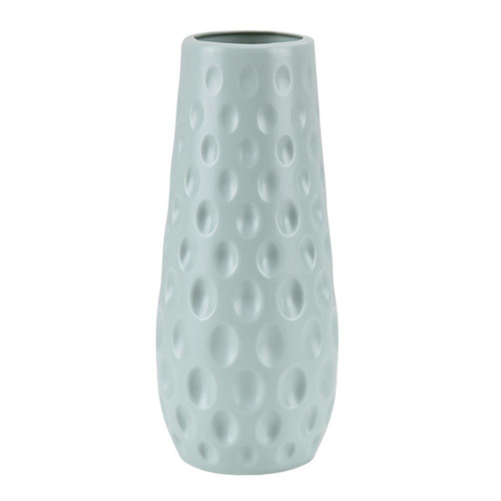 Скандинавском стиле Цветочная корзина ваза для цветов и рисунком в виде птичек-оригами Пластик ваза мини бутылка имитация Керамика украшение цветочный горшок для дома - Цвет: RL1266D