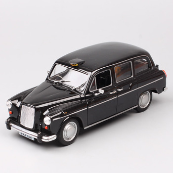Classic vintage 1:24 scale Welly the Austin FX4 car London taxi auto carriage metal Diecasts & Toy Vehicles model cab for boys image