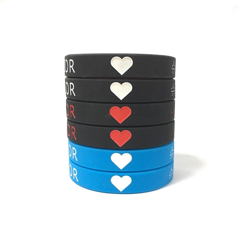 Super Junior Kpop Korean popular group silicone bracelet wristband For Super Junior custom jewelry