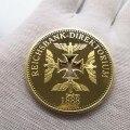 1891-1944 год Германия Вторая мировая война медали позолоченная монета Эрвин роммел армейский Маршал памятные монеты на сувенир