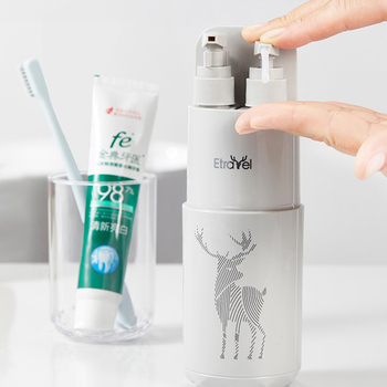 Creative Portable Travel 8 in1 Wash Cup Multi-Function Travel Bottle Tooth Mug Mirrors Comb Towel Toothbrush Storage Box portable tooth mug towel toothbrush toothpaste storage bottle holder w strap pink