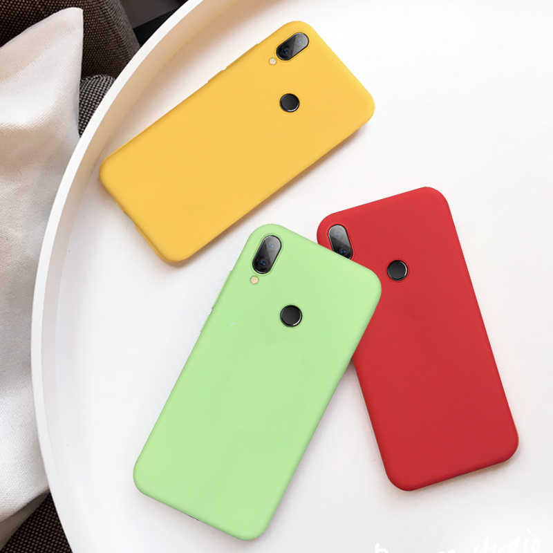 Redmi 7 Variopinta del Silicone di TPU Per Il Caso di Xiaomi Redmi Note7 Nota 8 Del Telefono Coque Per Redmi Nota 7 8 Pro caso molle Della Copertura Posteriore 2019
