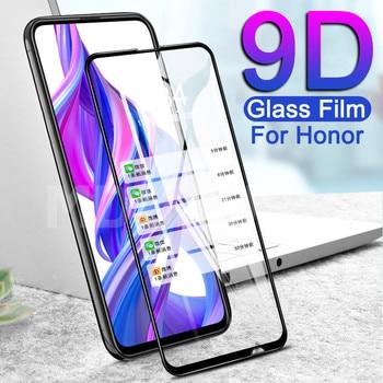 Перейти на Алиэкспресс и купить 9D закаленное стекло для Huawei Honor 9X 9A 9C 9S 8X 8A 8C 8S 9i 10i 20i 20S Play Защитная пленка для экрана