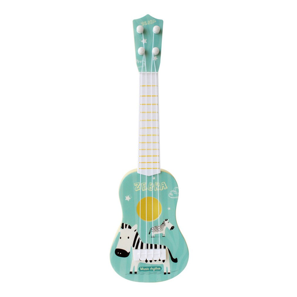 Cute Print Ukulele Beginner Kit With Clip On Tuner Light Weight Suitable For Solo Playing Singing Karaoke