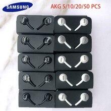 サムスンIG955イヤホン卸売5/10/20/50個と3.5ミリメートルで、耳マイクワイヤーヘッドセットakgサムスンギャラクシーS10 S9 S8スマートフォン