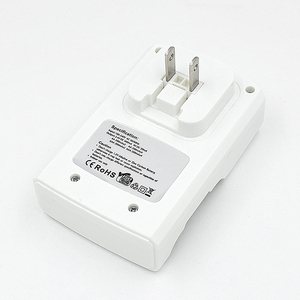 Image 4 - 100% Original Inteligente UE EUA Plug D4 Digicharger Conduziu a Luz do Carregador de Bateria Para 1.2V Ni Mh AA Ni Cd /AAA/9 V Bateria