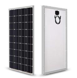 100W szklany panel słoneczny solidny moduł Mono zestaw ogniw 12V Off Grid Camp Car Marine