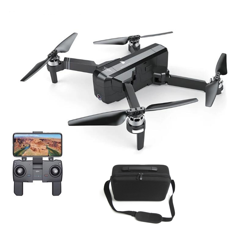 SJRC F11 GPS 5G Wifi FPV Mit 1080P Kamera 25 minuten Flugzeit mit Rucksack/Handtasche Bürstenlosen selfie RC Drone Quadcopter