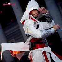Uwowo, cosplay para hombres adultos, ropa de calle, chaqueta con capucha, abrigos, prendas de vestir, disfraz de Edward assassins creed, disfraz de Halloween