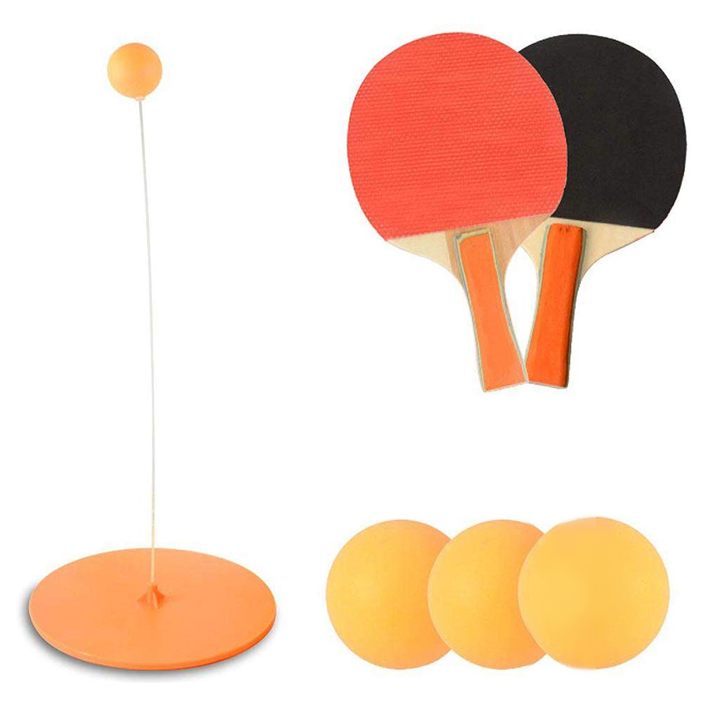 Ping-Pong Elastic Rod Portable Table Tennis Trainer Table Tennis Soft Shaft Training Machine Interesting Ping-Pong Soft Shaft