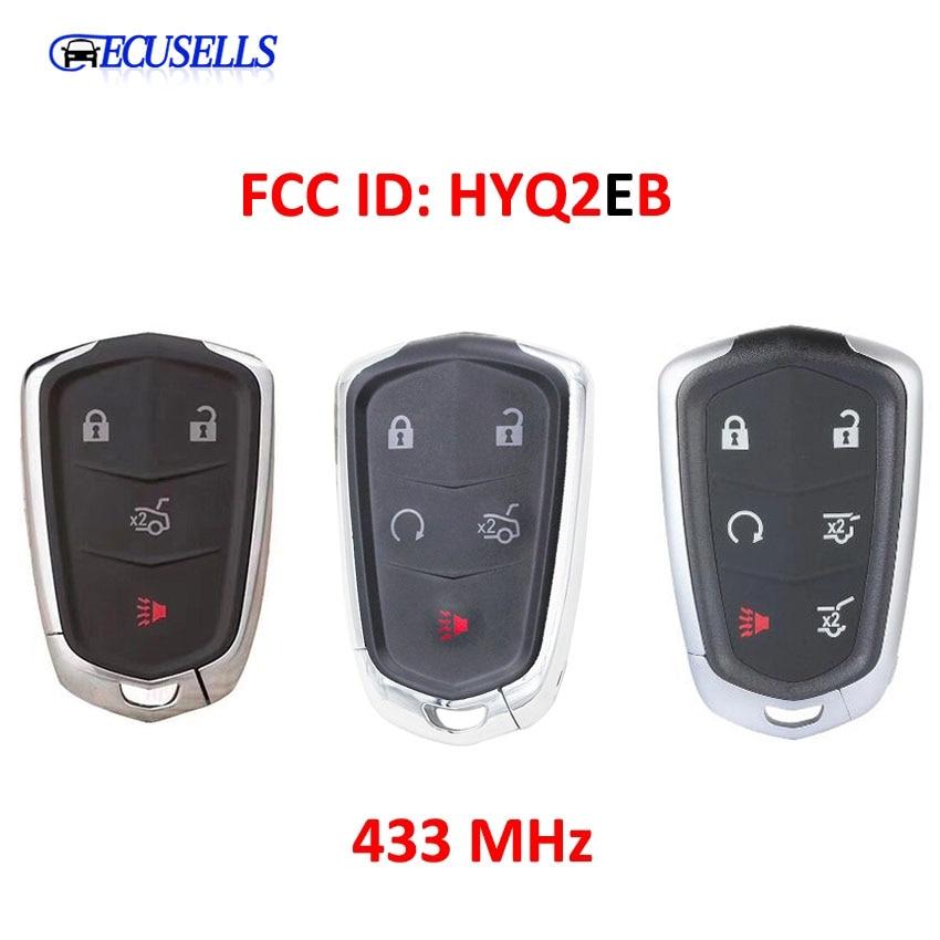 4/5/6 кнопочная лампа для Cadillac ESCALADE /ESCALADE ESV 2015-2019 XTS CTS CT6 ATS 2017-2018 идентификатор FCC HYQ2EB