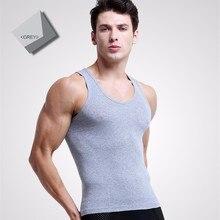 ..Hot Sales NEW Men Undershirt Vest Sleeveless Undershirt Male Sleeveless Casual