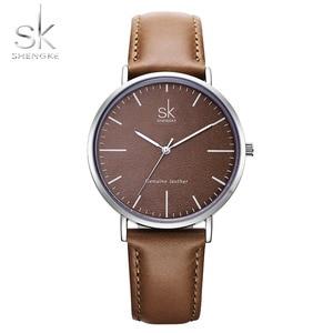 New Shengke 40mm Dial Lady Quartz Watch