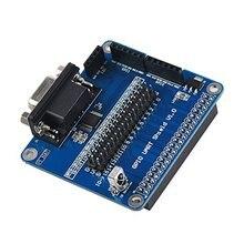 GPIO UART Raspberry Pi 3B/2B/B Expansion Board Modul + 40 Pin/2SPI/1I2C/ RS232 Umwelt freundliche materialien