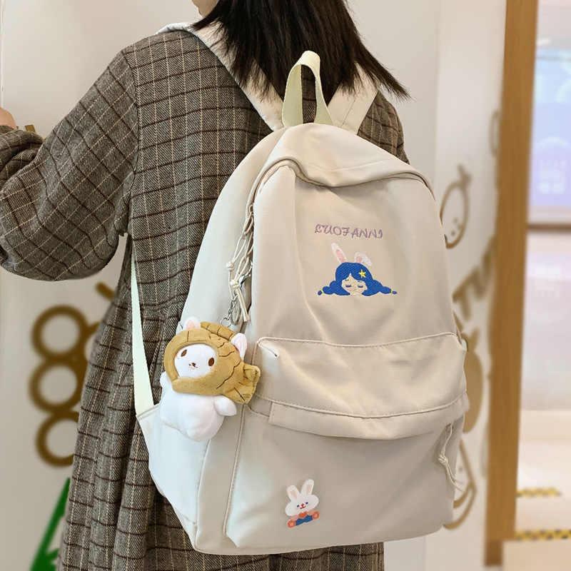 Fashion Mignon Coréen Style Femmes Fille Sac à dos étudiant voyage cartable sacs NOUVEAU