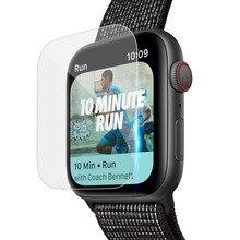 5 упаковок HD полное покрытие защитная пленка из термополиуретана пленка для Apple Watch Series 4(44 мм) прозрачная защитная пленка для экрана Аксессуары для часов