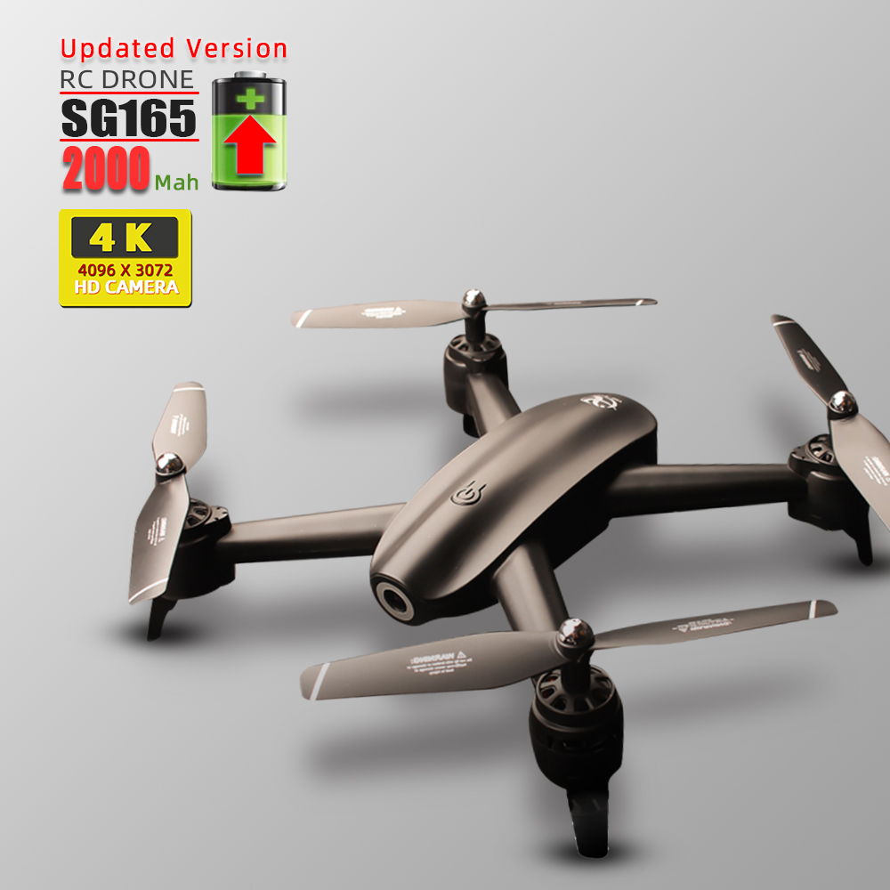 4K RC dron <font><b>drones</b></font> with camera helicopter <font><b>drone</b></font> toys quadcopter drohne quadrocopter helikopter droni selfie <font><b>S165</b></font> VS SG106 image