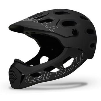 Cairbull adulto rosto cheio capacete da bicicleta mtb mountain road bicicleta cheio coberto capacete da motocicleta dh downhill ciclismo capacete trilha 1