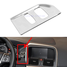 For Volvo XC60 2012-2017 Ignition Device Switch Key Hole Trim Cover Chrome Car Decoration Accessories