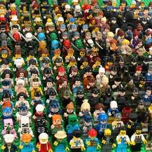 120 قطعة مجسمات صغيرة لشخصيات النينجا الجندي لهدايا الأطفال نماذج شرطة Ninjago ألعاب الطوب للأطفال الأولاد هدايا
