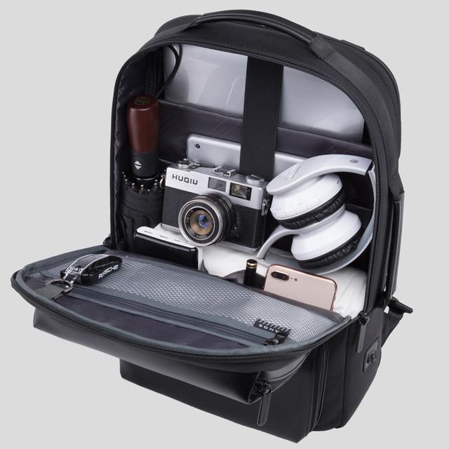 BANGE Professional Men Business Backpack Waterproof Travel Backpack 15.6'Laptop Backpack School Bag Office Men Backpack 4